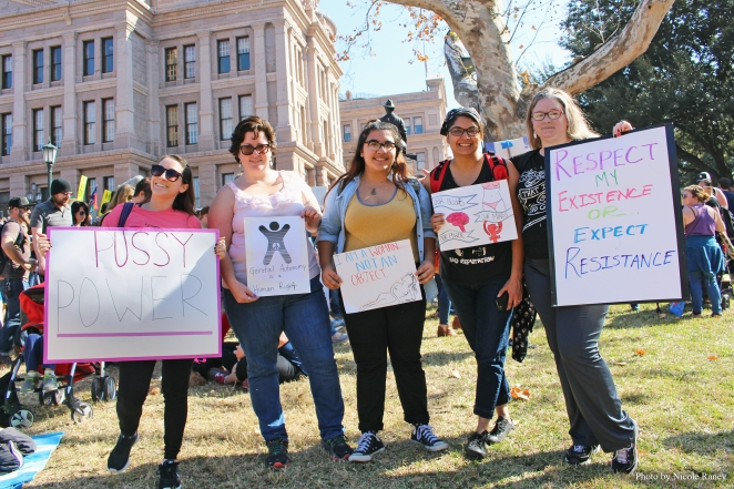 Women's March on Austin 2017